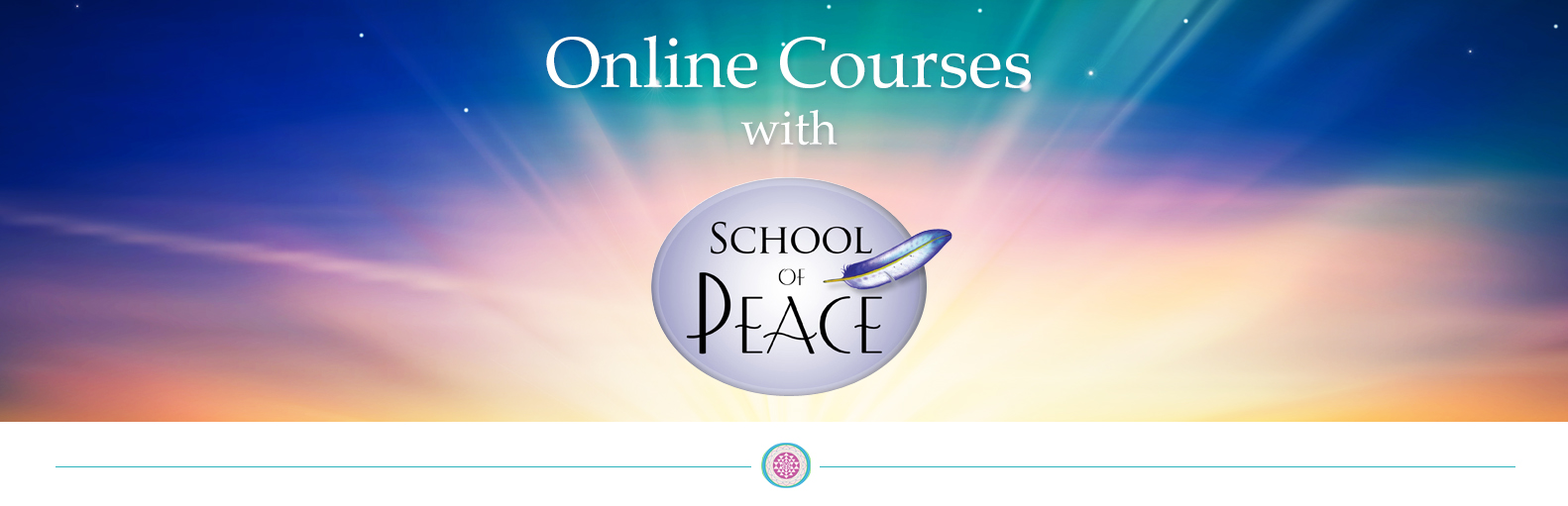 the school of peace online classes